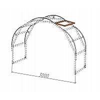 Верхние форточки для теплицы обеспечивают эффективный отвод избыточного тепла и могут устанавливаться как по одной на секцию, так и по две, с разных сторон.